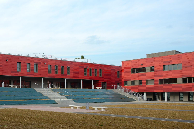 Travaux d'étanchéité béton au lycée Jean Zay de Jarny Metz en Meurthe-et-Moselle